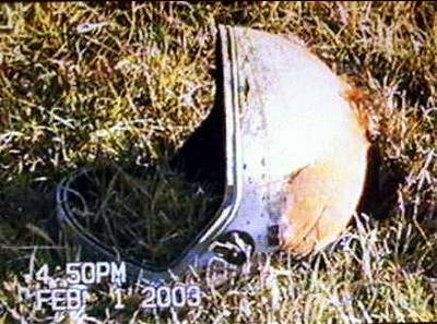 space shuttle columbia astronaut remains - photo #22