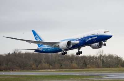 Boeing 787 Dreamliner Achieves Initial Airworthiness