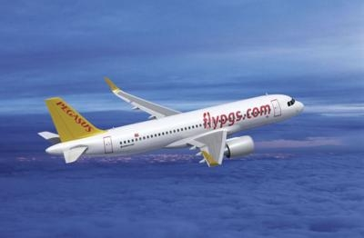 CALC Signs Letter Of Intent With Pegasus To Lease Two A320