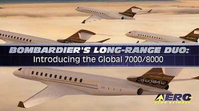 Aero Tv At Nbaa 2010 Bombardier S Long Range Duo The