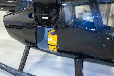FAA Certifies New Robinson R66 Slimline Auxiliary Fuel Tank