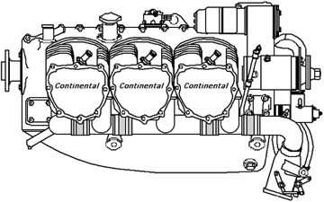 4 cylinder continental engine diagram faa revises proposed ad for airmotive continental engine ...