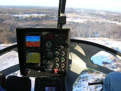 Enstrom Helicopter Goes With Chelton For Its Model 480b