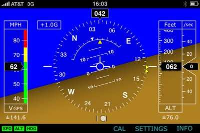 Company Develops EFIS Application For iPhone | Aero-News Network