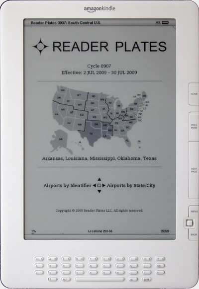 Reader Plates Now Available On The New Amazon Kindle DX