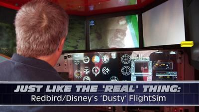 Aero-TV: Just Like The 'Real' Thing – Redbird/Disney's 'Dusty