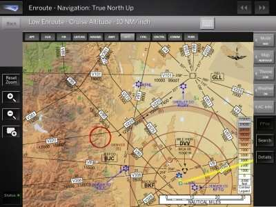 Ehi15 jeppesen europe high altitude enroute chart 15