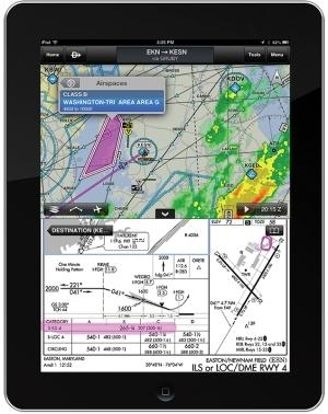 garmin pilot app adds dynamic maps with track up aero. Black Bedroom Furniture Sets. Home Design Ideas