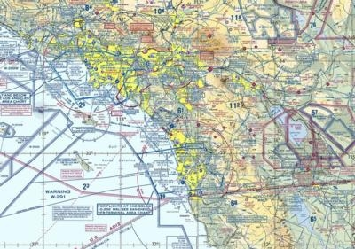 Air Traffic Control California Map.Email