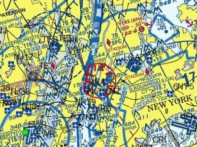 FAA Places TFR Over Trump Tower In Manhattan AeroNews Network - Faa no fly zone map