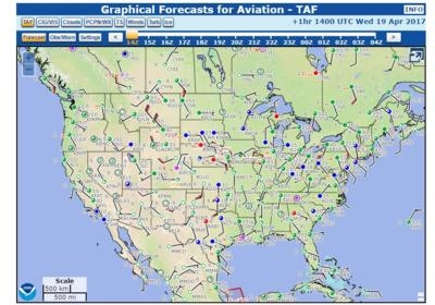 NOAA Finalizes 'Graphic Forecasts For Aviation' | Aero-News