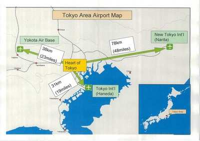Japanese Local Governments Shush Yokota Air Base AeroNews Network - Us Air Force Bases In Japan Map