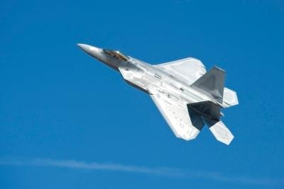 The f 22 raptor demonstration team returns to the ca capital airshow aero news network - Military wingsuit ...