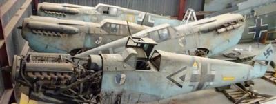 Swiss Company To Restore Messerschmitt Bf 109s Found In