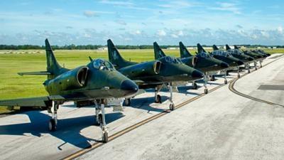 Draken International Deploys To Nellis AFB For WEPTAC | Aero-News ...