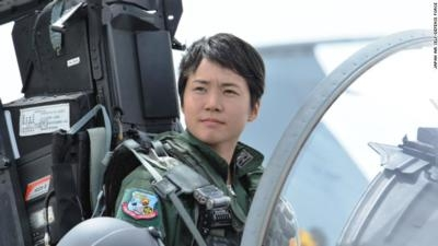 8382eedd Japan Names First Female Fighter PIlot | Aero-News Network