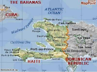 US To Open Additional Runway In Haiti General Says AeroNews - Haiti and the us map