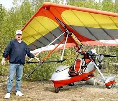 Antares Intro's Trike Kwik-Fold Kit   Aero-News Network