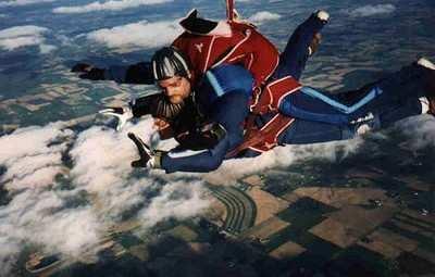 Skydive Novice Falls Clear Of Tandem Instructor | Aero-News