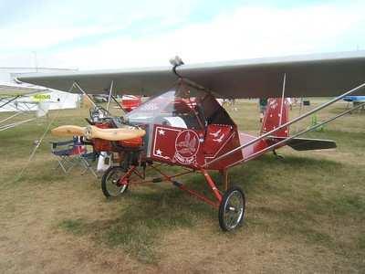 OSH07 SCOTT DOUBLEEAGLE 0707A Dozens of Experimental Amateur Built aircraft designs fit the LSA mold ...