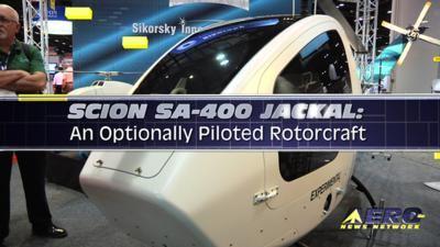 Aero Tv Scion Sa 400 Jackal An Optionally Piloted