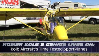 Aero-TV: Homer Holb's Genius Lives On - Kolb Aircraft's Time