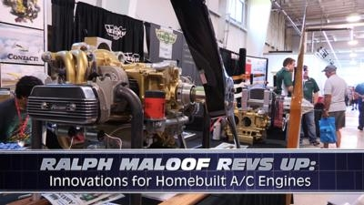 Aero-TV: Ralph Maloof Revs Up - Innovations For Homebuilt A/C
