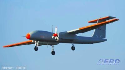 Airborne-Unmanned 03 06 18: UAVOS VTOL UAV, Rustom 2 Flies