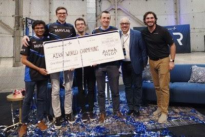 LMC & Drone Racing League Announce A I  Robotic Racing
